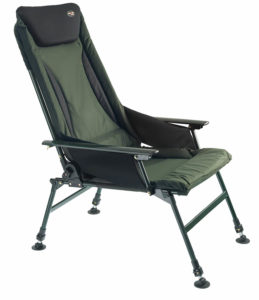 Cormoran PRO CARP Karpfenstuhl mit Armlehnen, Modell 7300, Luxus Karpfenstuhl der Extraklasse